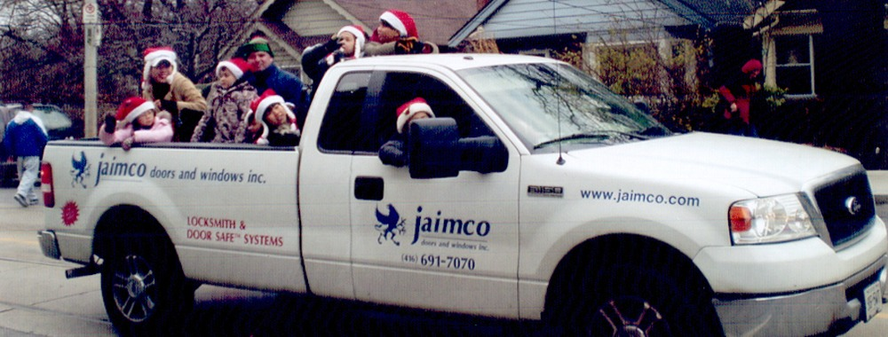 Jaimco in the Annual Beaches Christmas Parade